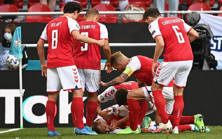 Euro Cup 2020: Christian Eriksen collapsed on the field against Finland, Match Suspended (Live Updates)