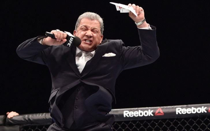 Bruce Buffer talks about his UFC Future; Not Retiring for at least another 10 years