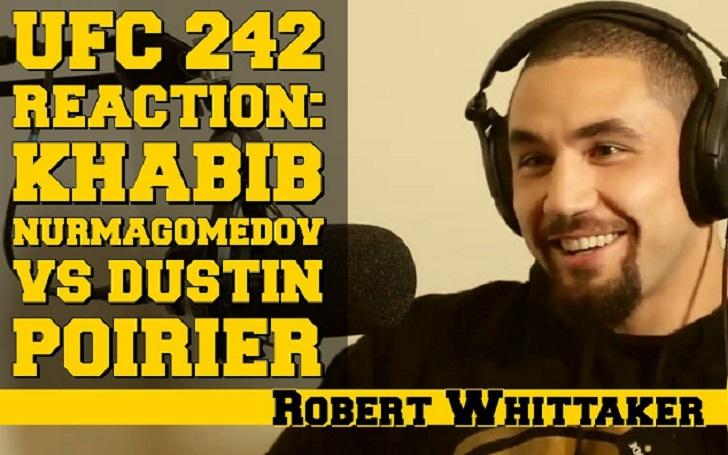 Robert Whittaker Predicts UFC 254 Title Bout Headlining Khabib Nurmagomedov Vs Justin Gaethje