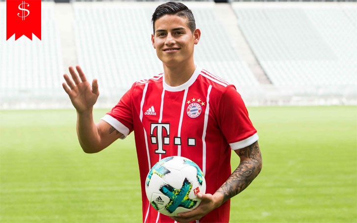 James Rodríguez is Living Happily With his Wife Daniela Ospina, Do They Have Children?