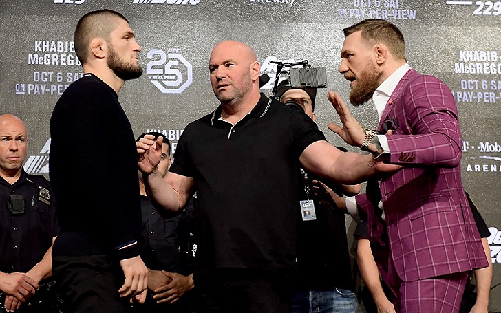 Conor McGregor Vs Khabib UFC 229 Press Conference Video Replay; The Notorious reminds us he is the Best MMA Salesman