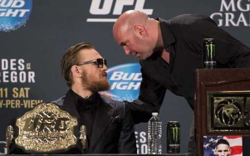 """Dana White Responds to Conor McGregor Retirement Plan: """"You don't have to fight!"""""""