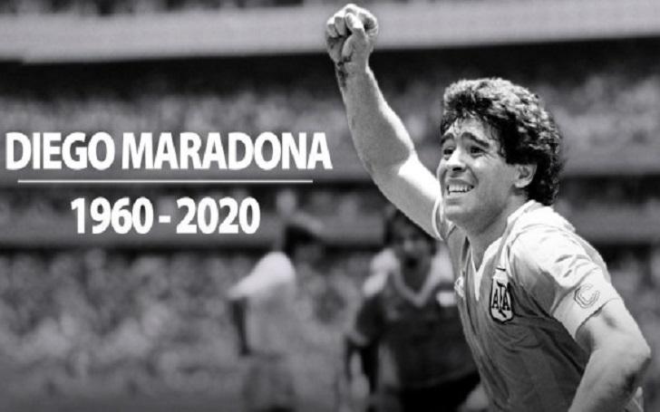 Football Legend Diego Maradona has Died Aged 60