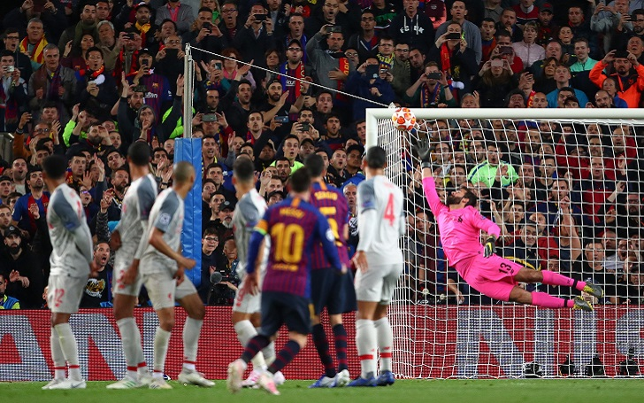Lionel Messi Wins UEFA Goal of Season Award; Ronaldo in the Second place