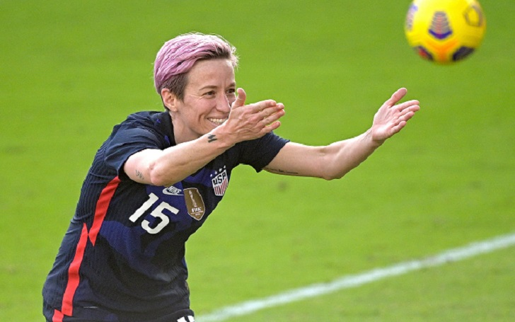 Megan Rapinoe Congratulated Ashlyn Harris and Ali Krieger for their New Baby; Dedicated her Goal against Brazil