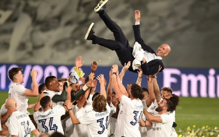 Real Madrid are the Champions of Spain; First title since 2017