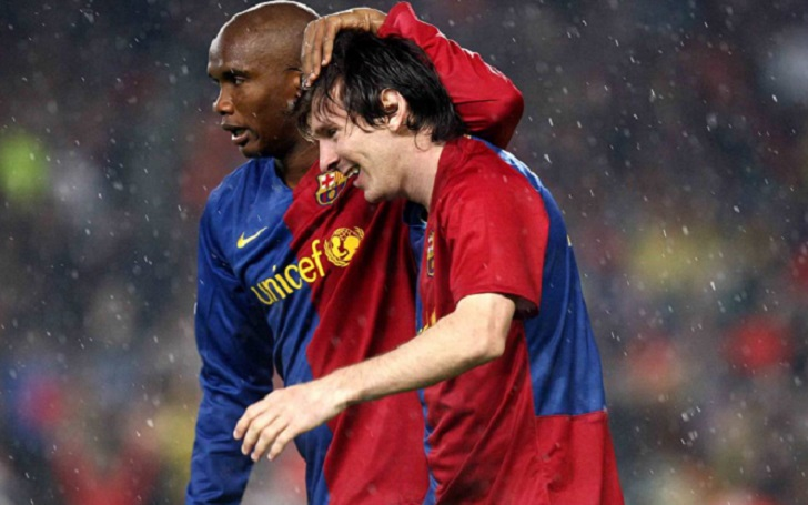 Samuel Eto'o Responds To Lionel Messi Potential Exit- 'If Messi leaves, we'll have to change Barcelona's name'