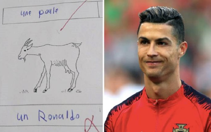 Student Names GOAT as Ronaldo; Fails French Exam by 1 Mark