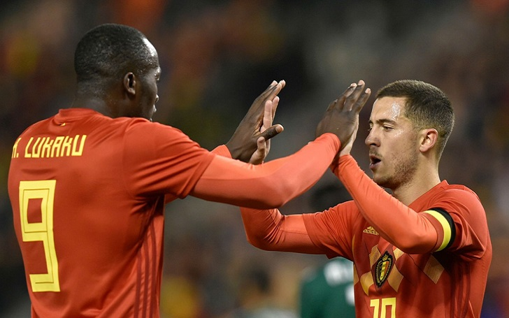 What Did Romelu Lukaku say to the camera after scoring Brace in 2018 World Cup